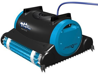 Dolphin 99996323 Dolphin Nautilus Robotic Pool Cleaner with Swivel Cable 400
