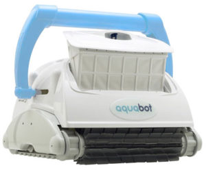 Aquabot Breeze IQ Wall Climbing Automatic In Ground Robotic Brush Pool Cleaner